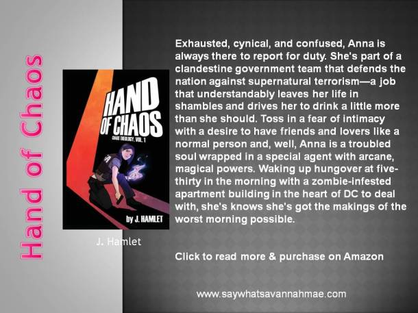 Featured Book Hand Of Chaos