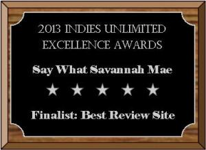Say-What-Savannah-Mae Excellence Finalist