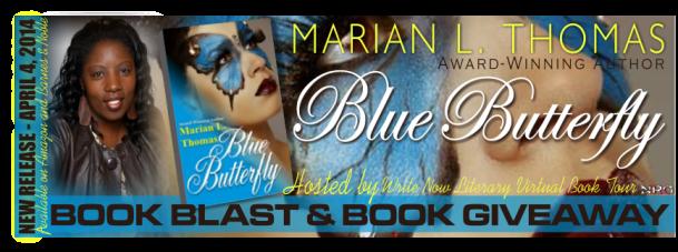 Blue Butterfly Banner