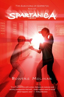 Book Blitz: Spartanica by Powers Molinar