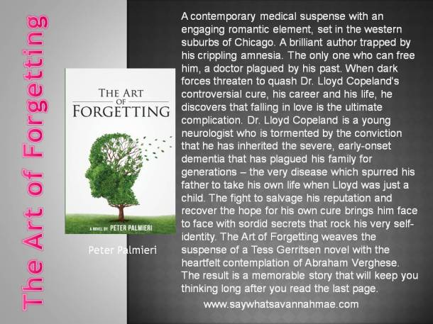 Featured Book The Art of Forgetting